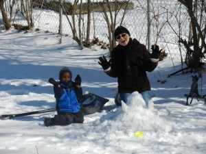 Vincent Mommy and the Snow Monster